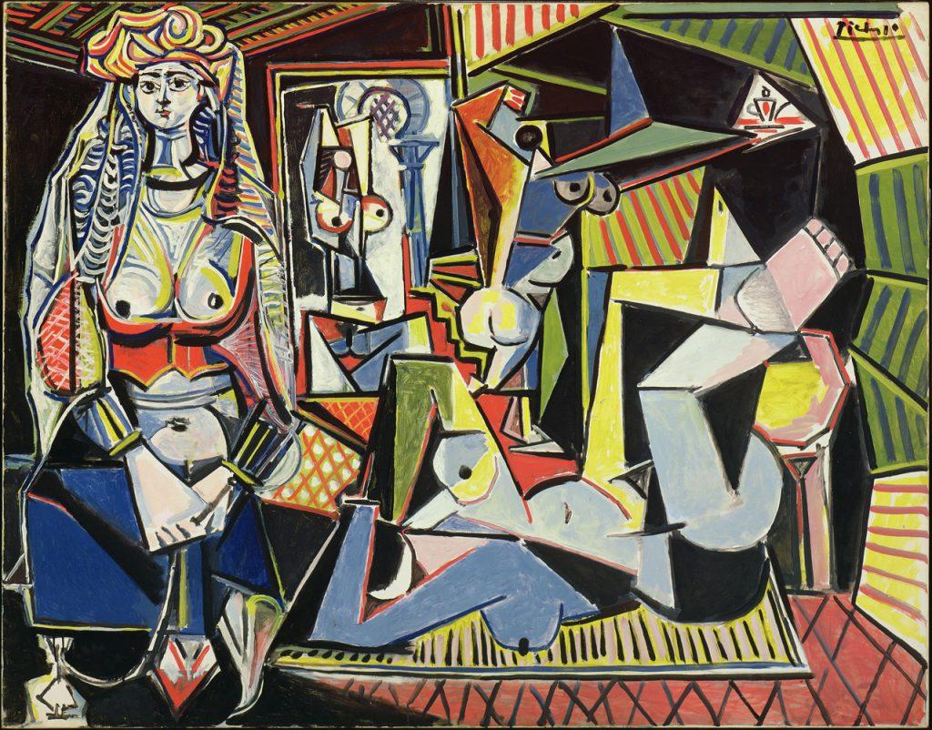 Pablo Picasso, Les femmes d'Alger (Version O), 1955, private collection.