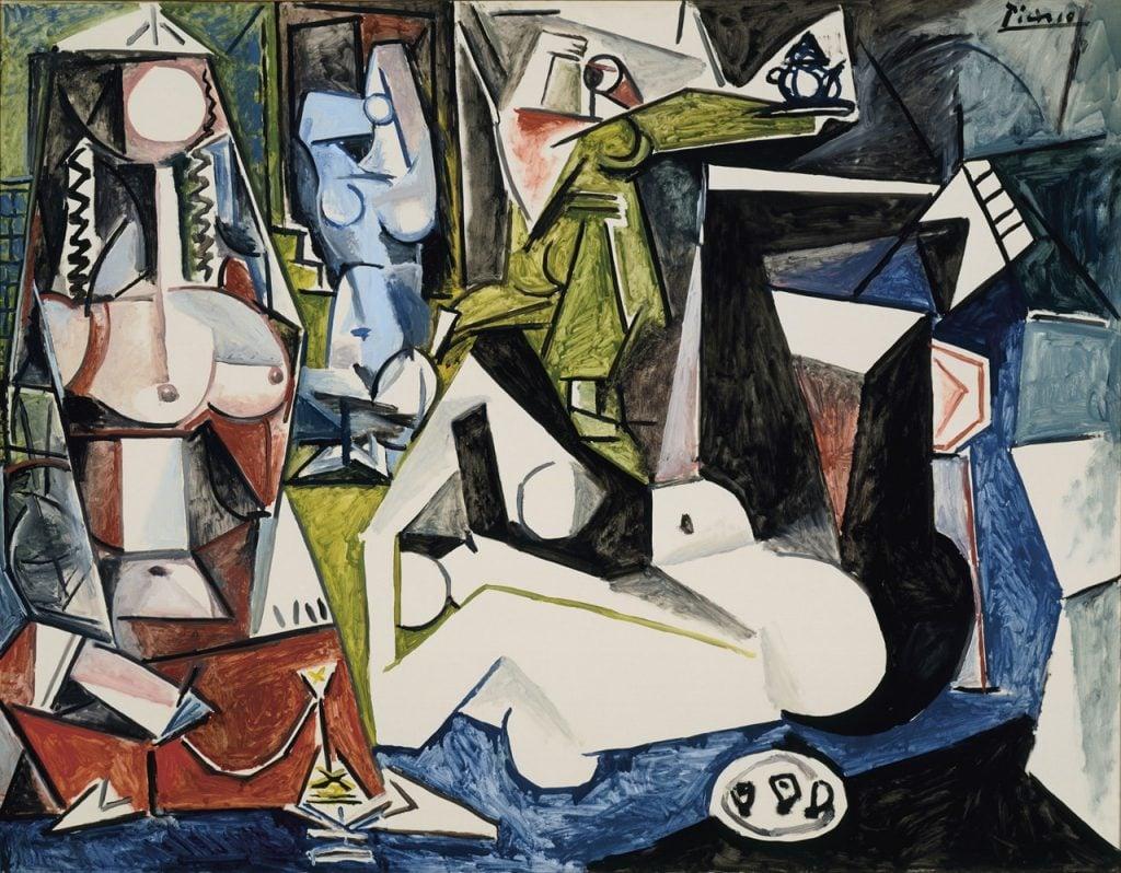 Pablo Picasso, Les Femmes d'Alger (Version N), 1955,Mildred Lane Kemper Art Museum, St. Louis, MO, USA.