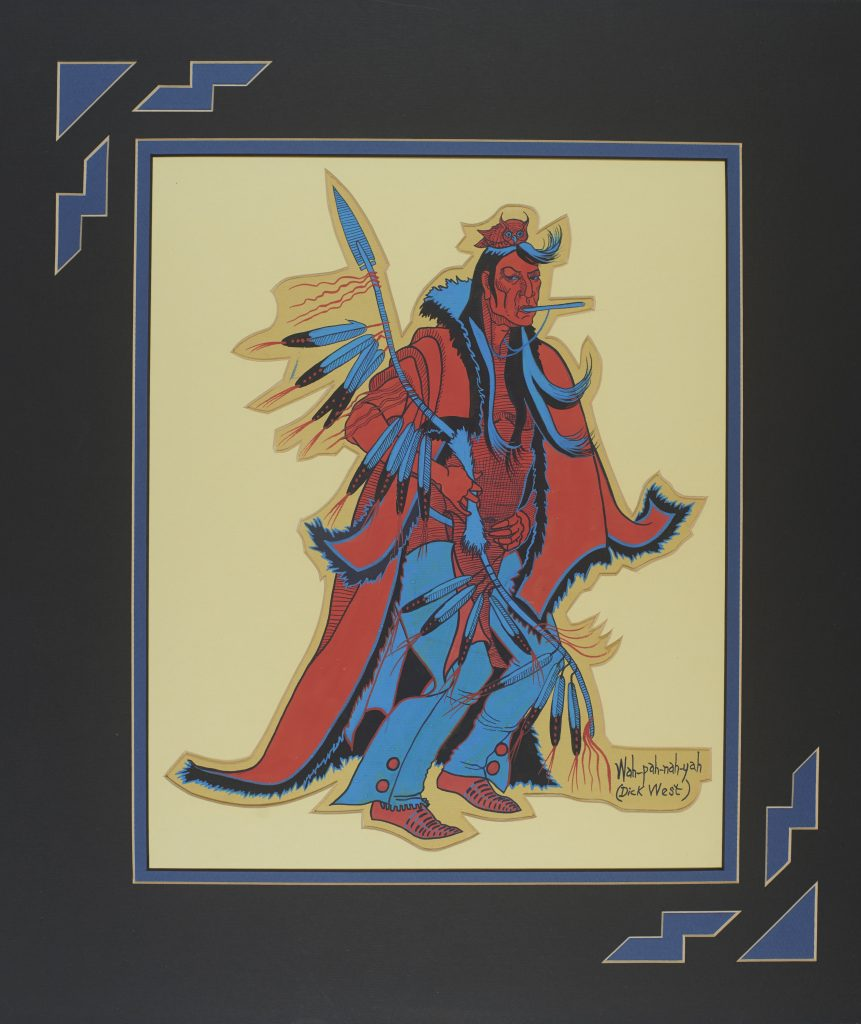 Dick West (Southern Cheyenne, 1912–1996), Untitled, 1940–1960, National Museum of the American Indian (NMAI), U.S.A.