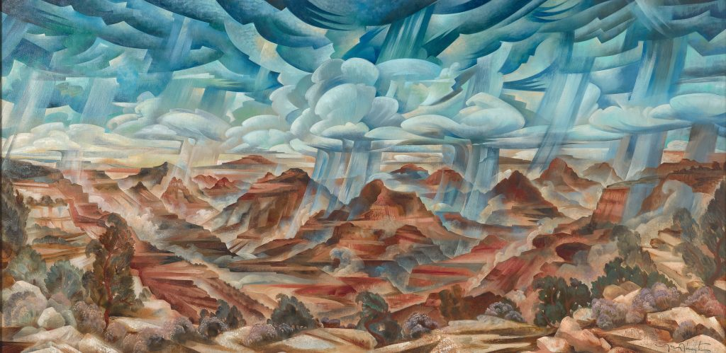 Tony Abeyta (Navajo, b. 1965), The Grand Canyon, 2015, National Museum of the American Indian (NMAI), U.S.A.